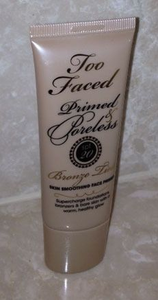 Too Faced Primed and Poreless SPF20 Bronze Tint Skin Smoothing Face Primer
