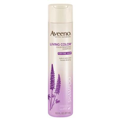 Aveeno living colour shampoo