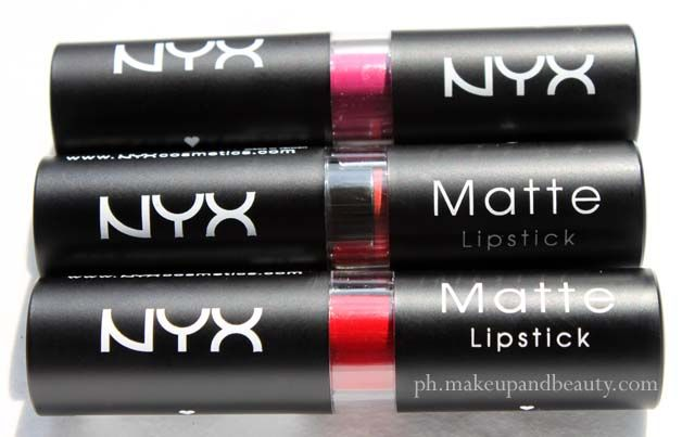 NYX Matte Lipstick (All Shades)