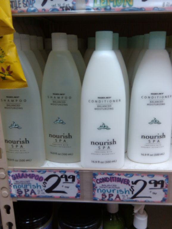 Trader Joe's Balanced Moisturizing Nourish Spa Conditioner
