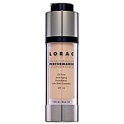 LORAC Breakthrough Performance Oil Free Anti-aging with sms complex spf 14