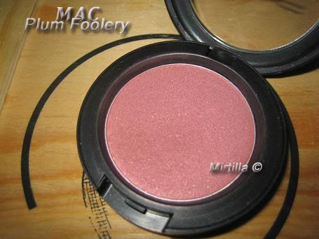 MAC Sheertone Shimmer Blush in Plum Foolery