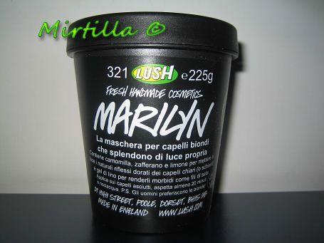 LUSH Marilyn Hair Moisturiser
