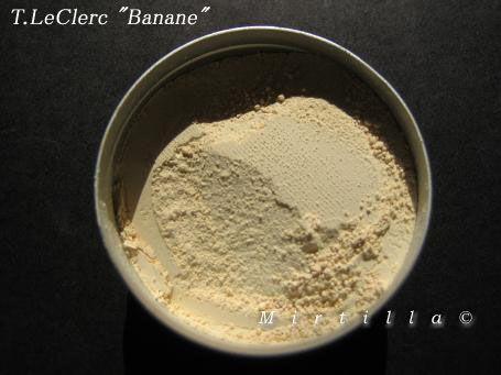 T. LeClerc Loose Powder in Banane