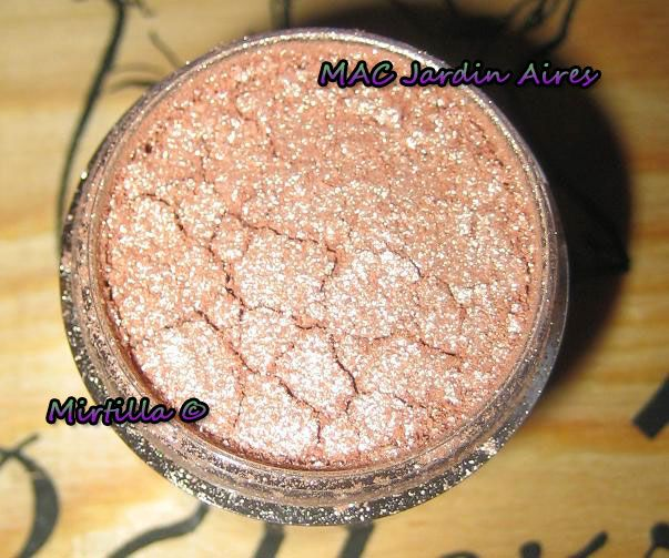 Mac jardin aires pigment reviews photos makeupalley - Hermes un jardin en mediterranee review ...
