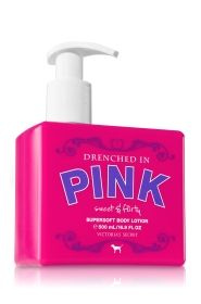Victoria's Secret Drenched in PINK Sweet & Flirty Supersoft Body Lotion
