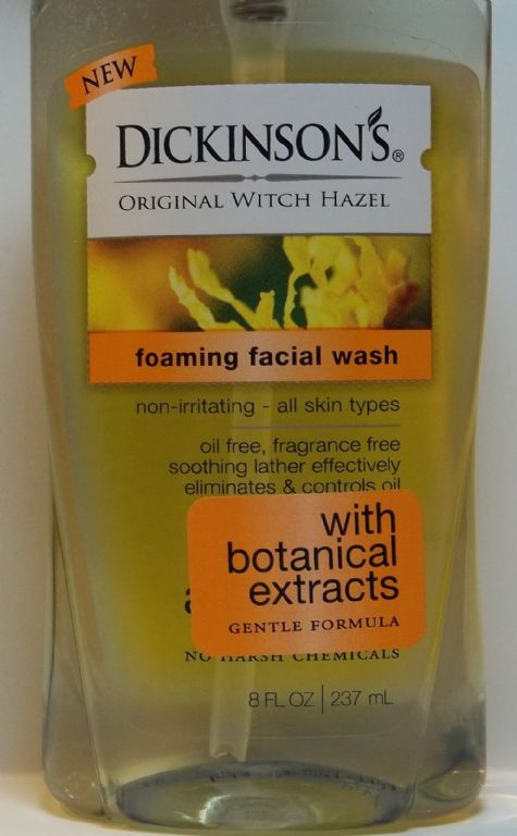 Dickinson's Foaming Facial Wash