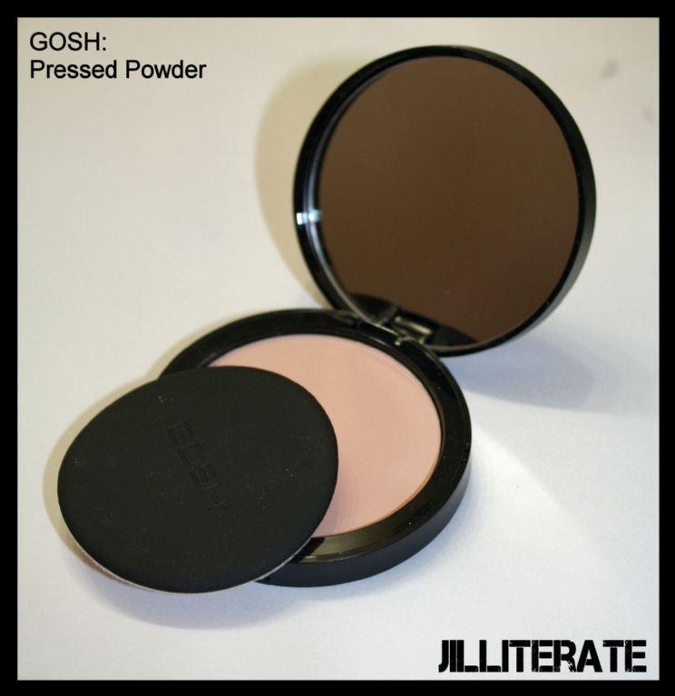 GOSH pressed powder