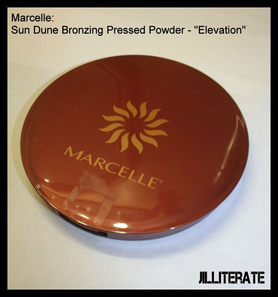 Marcelle Sun Dune Bronzing Pressed Powder in Elevation