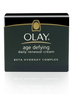 Moisturizers - Olay - Age Defying Daily Renewal Cream - Beta Hydroxy