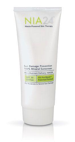NIA 24 Sun Damage Prevention 100% Mineral Sunscreen