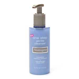 Neutrogena one-step gentle cleanser
