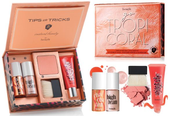 BeneFit Cosmetics TropiCoral Lip & Cheek Kit