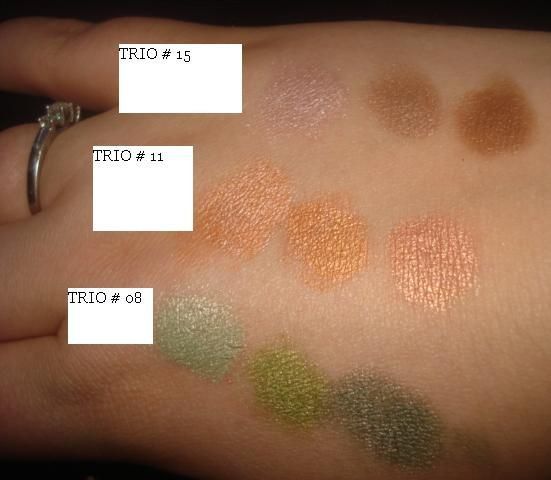 NYX 3 Color Eyeshadow