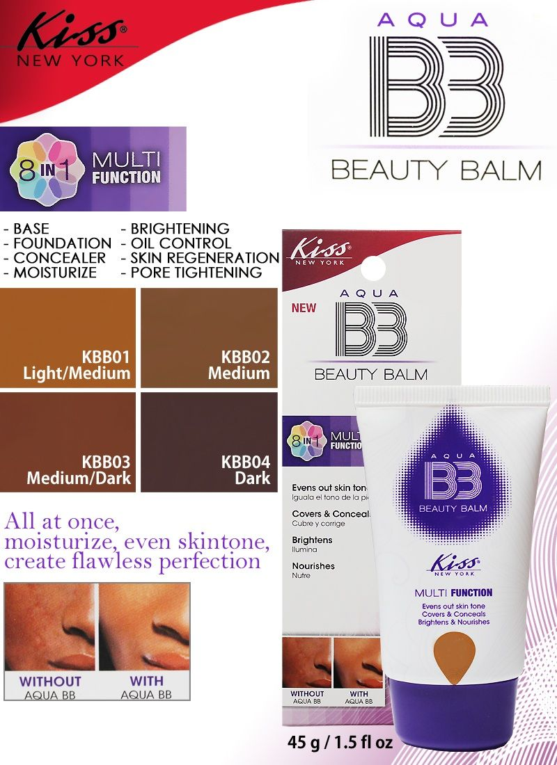 Kiss Cosmetics Beauty Balm
