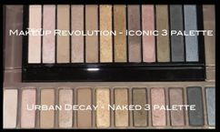 Makeup revolution - Eye shadow palettes
