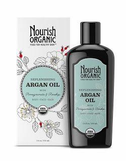 Nourish Organics - Replenishing Argan Oil