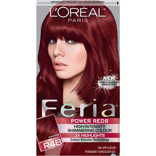 L Oreal Feria Reds
