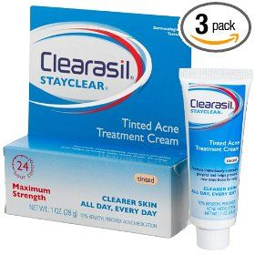 Clearasil Stayclear Tinted Acne Treatment Cream Reviews Photos Ingredients Makeupalley
