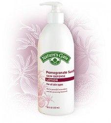 Nature's Gate Pomegranate Sunflower Skin Defense Lotion