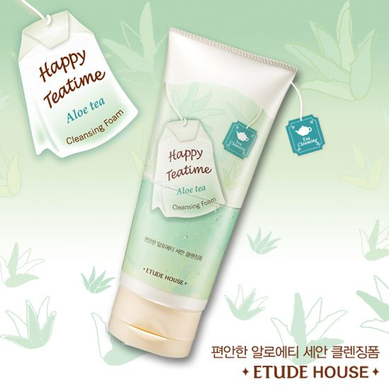 Etude House Happy TeaTime Cleansing Foam (All)