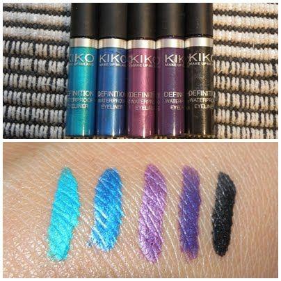 Kiko Cosmetics Definition Waterproof Eyeliner Reviews