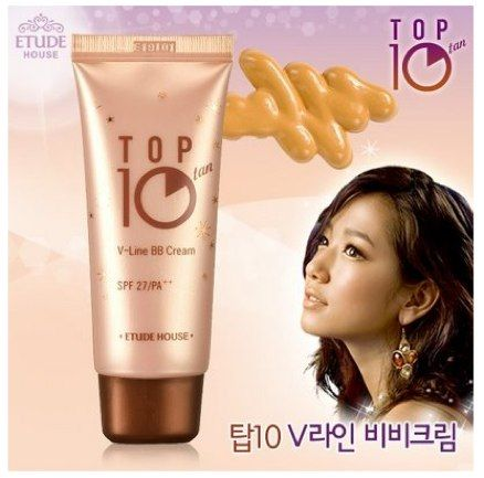 Etude House Top 10 tan V-line BB Cream