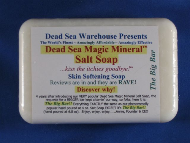One With Nature Dead Sea Salt Soap Review