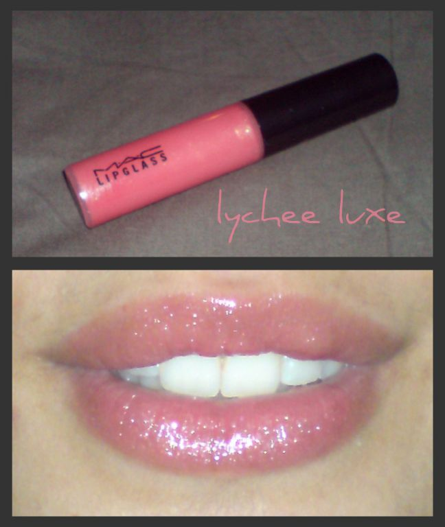 mac lipglass in lychee luxe - Mac Lip Gloss Colors