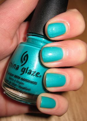 China Glaze Turned Up Turquoise reviews, photos - Makeupalley