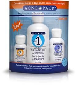 Zapzyt Acne Pack 3 Step System