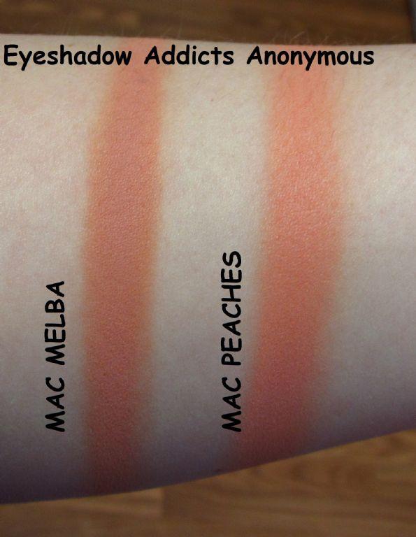 Très MAC Sheertone Blush in Peaches reviews, photos, ingredients  FW98