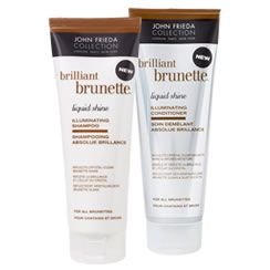 John Frieda Brilliant Brunette Liquid Shine Illuminating Shampoo & Conditioner