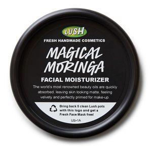 LUSH Magical Moringa moisturiser and primer