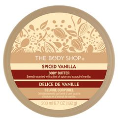 The Body Shop Spiced Vanilla Body Butter