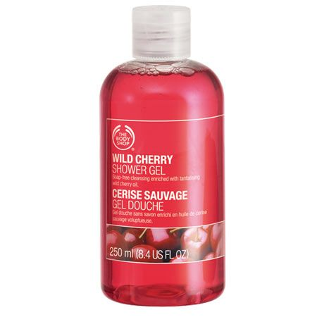 The Body Shop Wild Cherry Shower Gel