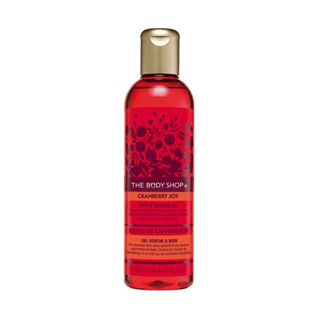 The Body Shop Cranberry Joy Bath & Shower Gel