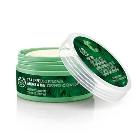 The Body Shop Tea Tree Exfoliating Pads