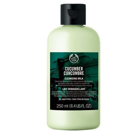 The Body Shop cucumber concombre cleansing milk