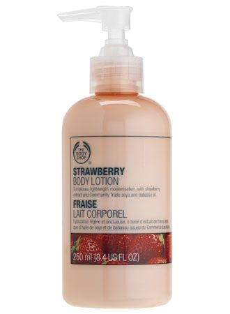 The Body Shop Strawberry Body Lotion
