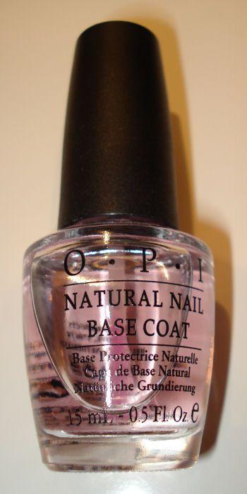 OPI Natural Nail Base Coat reviews, photos, ingredients - Makeupalley