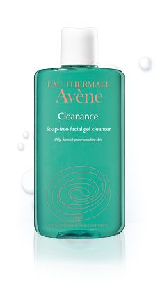 Avene  Cleanance soapless gel cleanser for oily skin