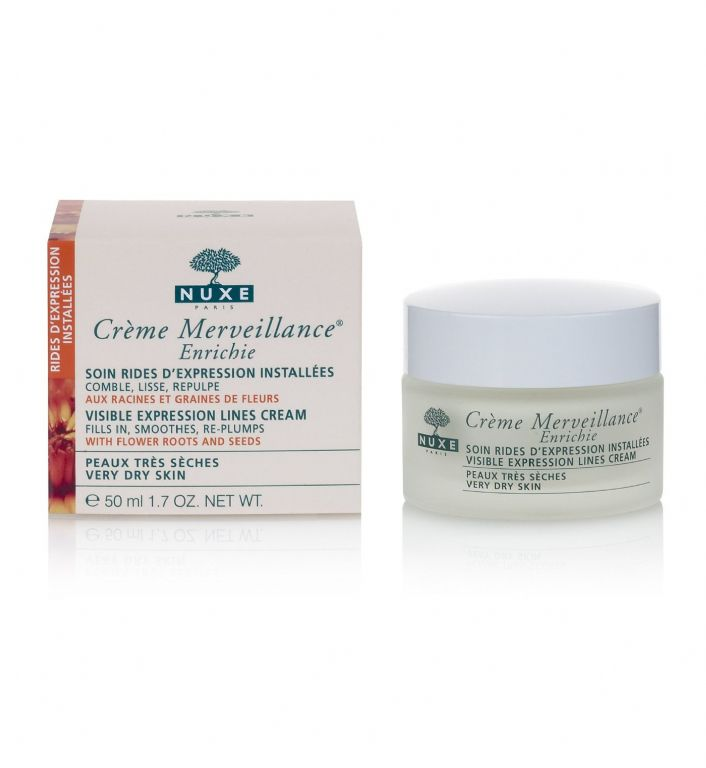 Nuxe Creme Merveillance Enrichie Visible Expression Lines Cream (for Very Dry Skin)
