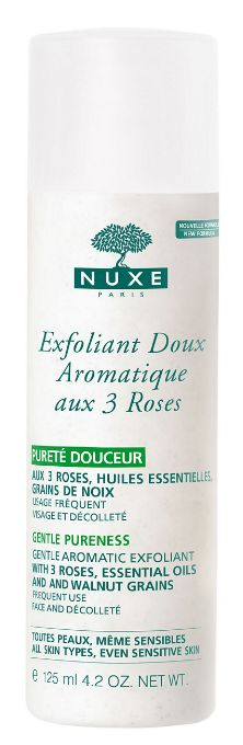 Nuxe Gentle Aromatic Exfoliant with 3 Roses (Exfoliant Doux Aromatique aux 3 Roses)