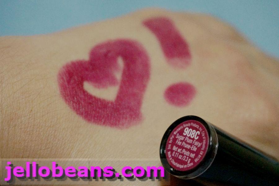 wet n wild megalast lipstick 908 sugar plum fairy reviews