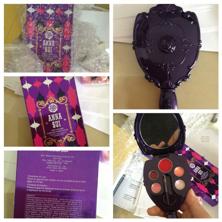 Anna Sui Lip Color Collection AN IV