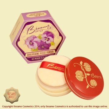 Besame Brightening Violet Powder