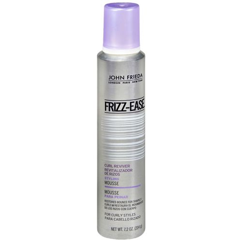 John Frieda Frizz Ease Curl Reviver Styling Mousse Reviews Photos Ingredients Makeupalley