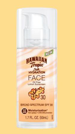 Hawaiian Tropic Silk Hydration FACE oil-free sunscreen SPF30 reviews ... 62e2e24a9829