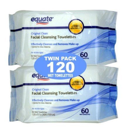 Equate Original Clean facial cleaning towelettes